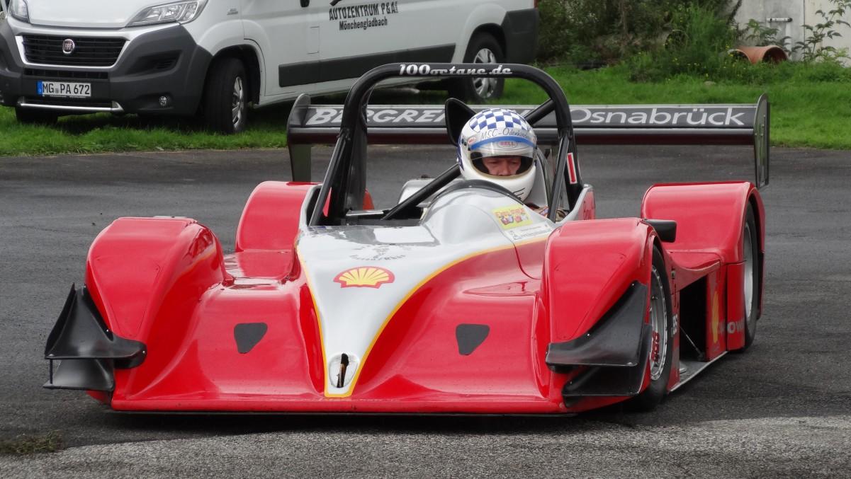 Bernd Letmade in seinem Norma Honda M20