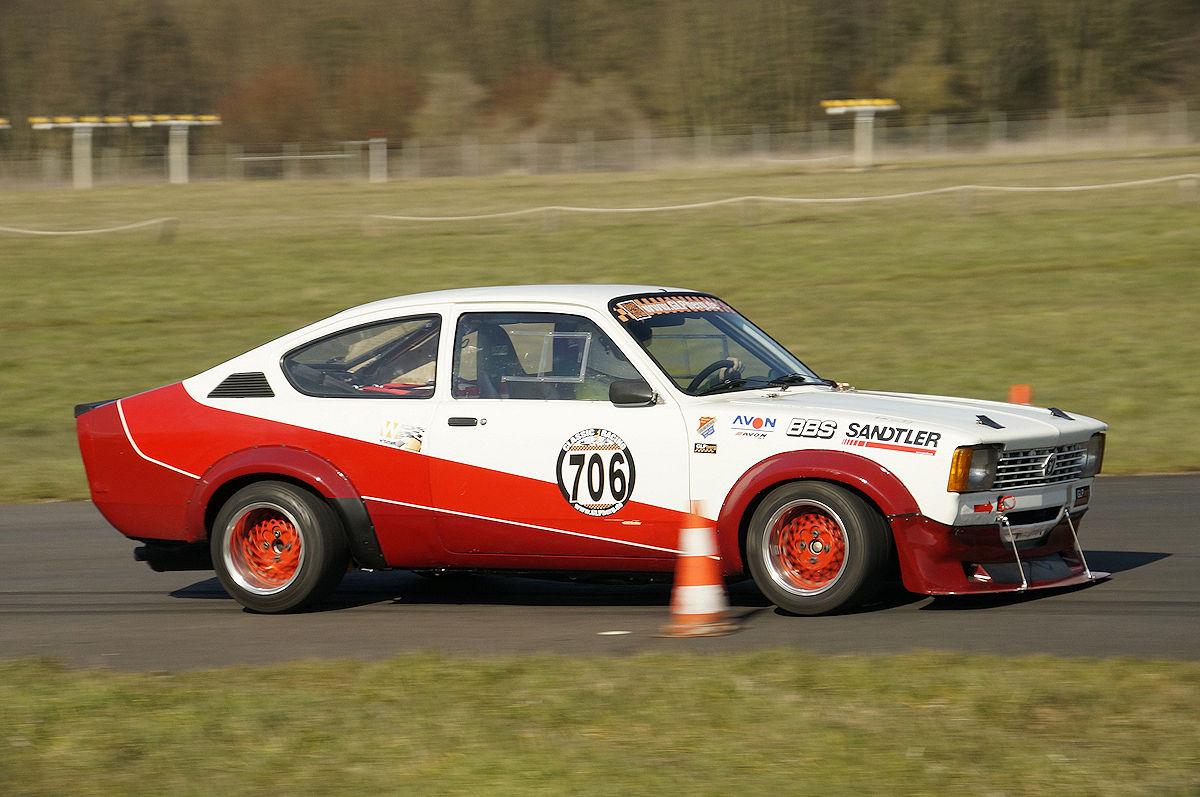 Wolfgang Stark im Opel Kadett C