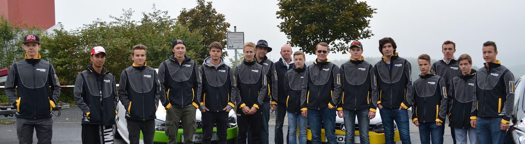 Die Teilnehmer der NRW Junioren Slalom Meisterschaft